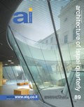ai magazine 89 · Architecture of Israel