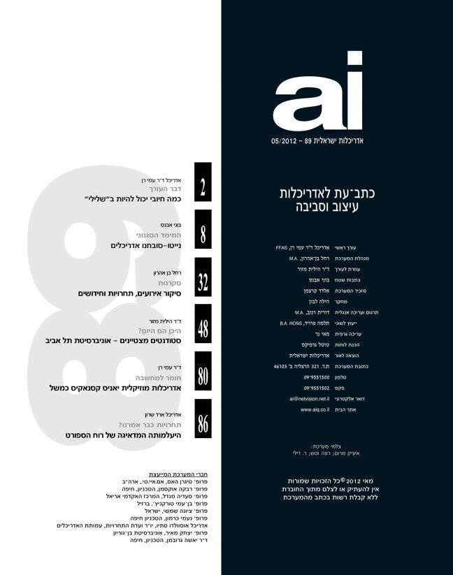 ai magazine 89 · Architecture of Israel - Preview 2