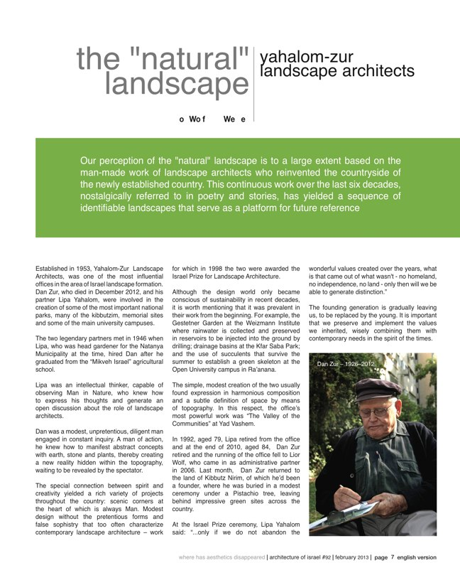 ai magazine 92 · Architecture of Israel - Preview 3