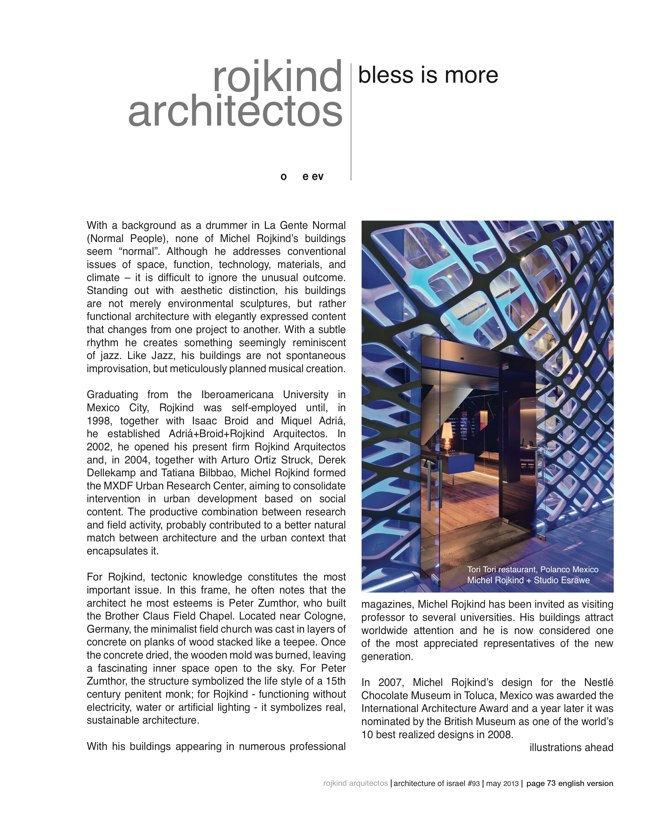 ai magazine 93 · Architecture of Israel - Preview 14