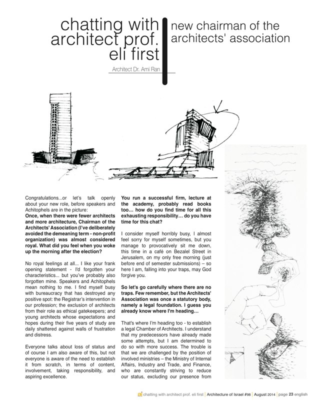 ai magazine 98 · Architecture of Israel Quarterly - Preview 12