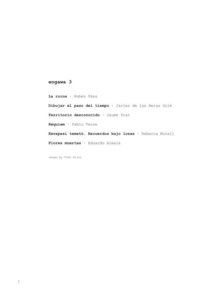 e n g a w a # 03 - Preview 2