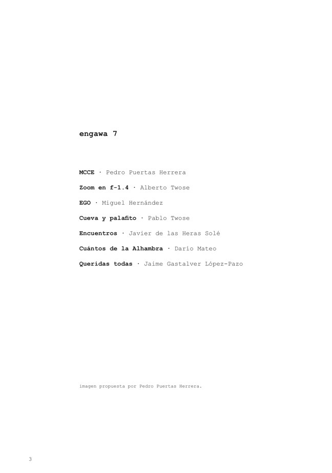 e n g a w a # 07 - Preview 2