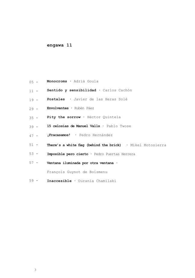 e n g a w a # 11 - Preview 2