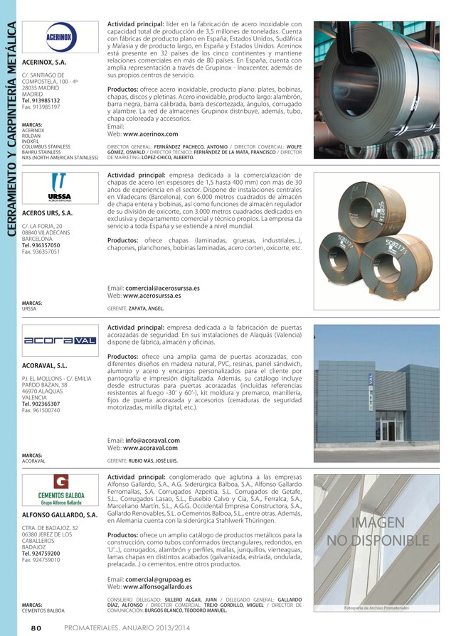 Anuario de materiales de construcción 2013-2014 - Preview 11