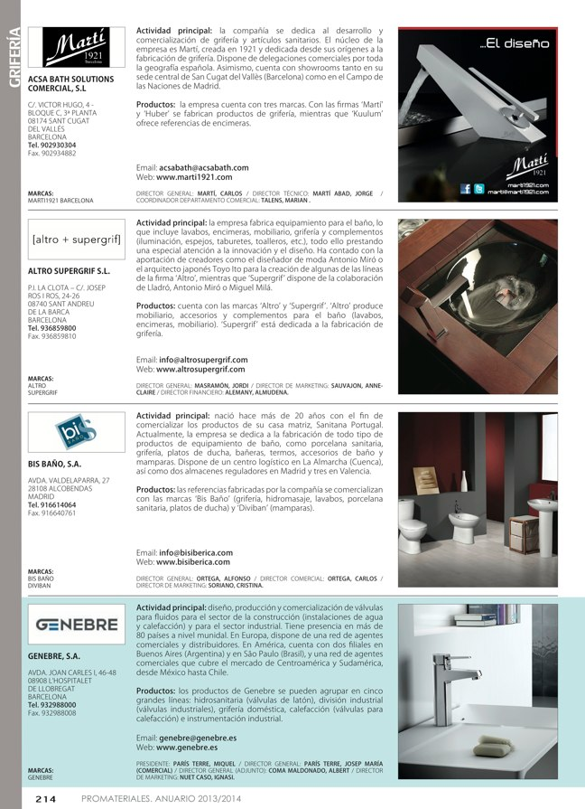 Anuario de materiales de construcción 2013-2014 - Preview 23