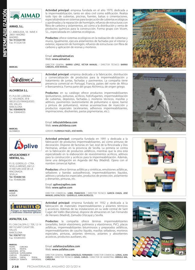 Anuario de materiales de construcción 2013-2014 - Preview 27