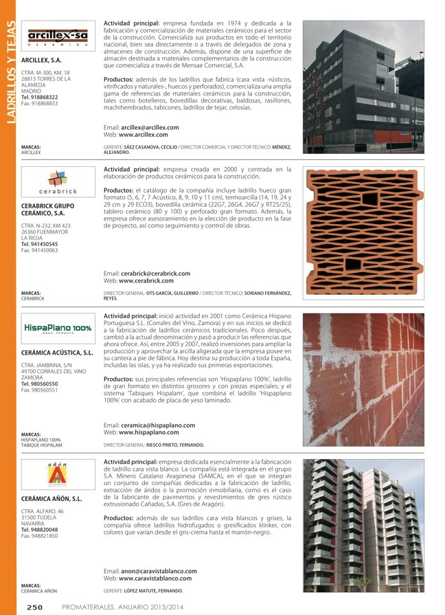 Anuario de materiales de construcción 2013-2014 - Preview 29