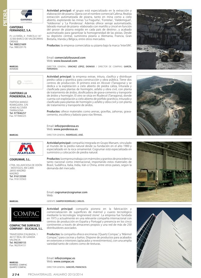 Anuario de materiales de construcción 2013-2014 - Preview 33