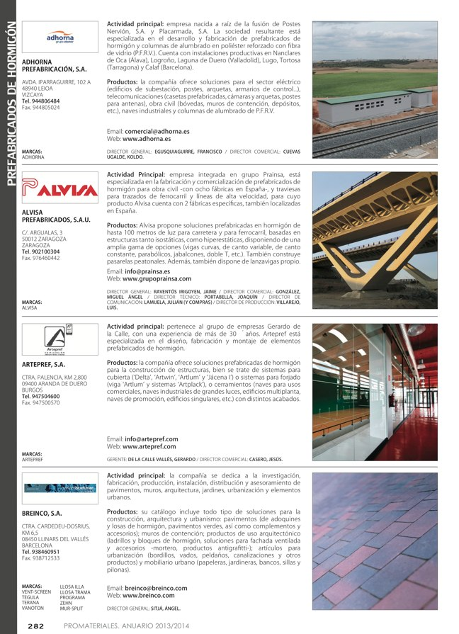 Anuario de materiales de construcción 2013-2014 - Preview 35