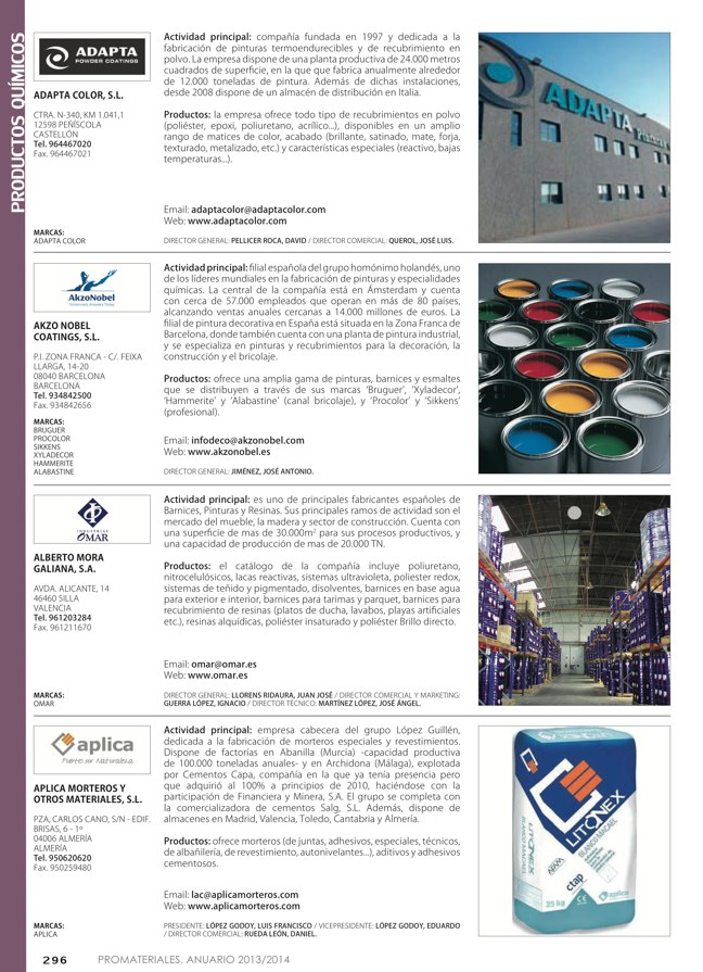 Anuario de materiales de construcción 2013-2014 - Preview 37