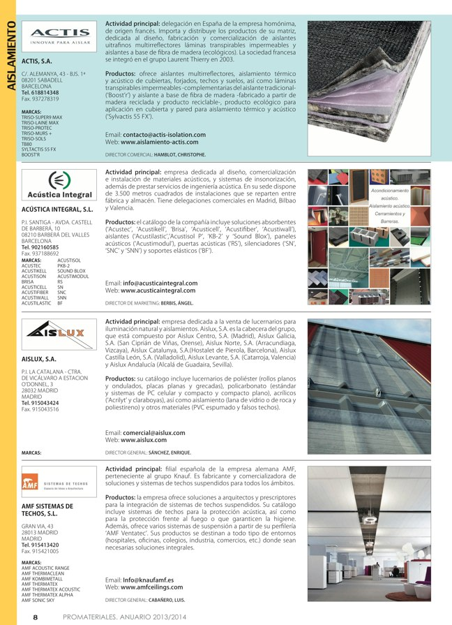 Anuario de materiales de construcción 2013-2014 - Preview 3