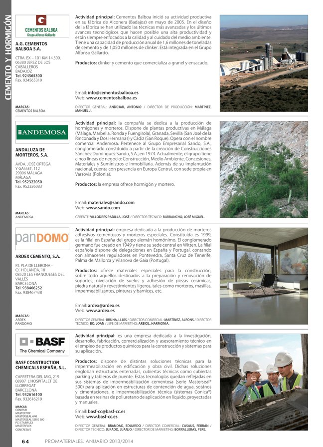 Anuario de materiales de construcción 2013-2014 - Preview 9