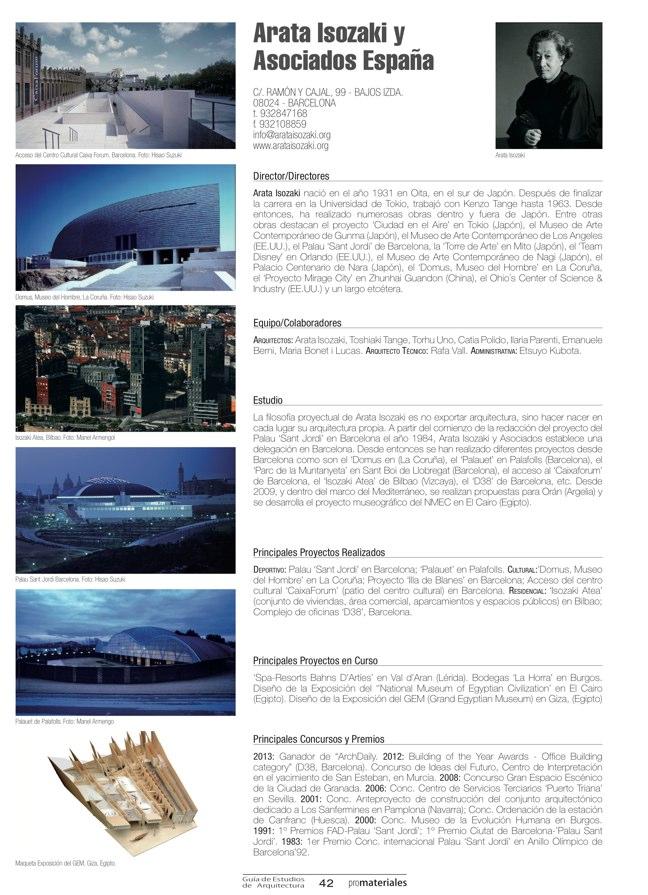 GUIA DE ESTUDIOS DE ARQUITECTURA 2013-2014 - Preview 11