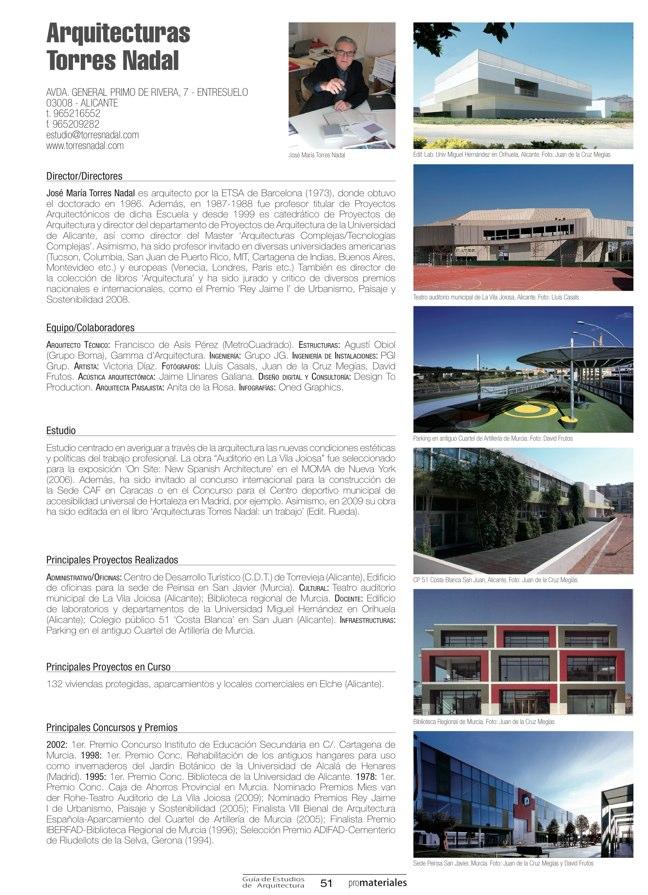 GUIA DE ESTUDIOS DE ARQUITECTURA 2013-2014 - Preview 12