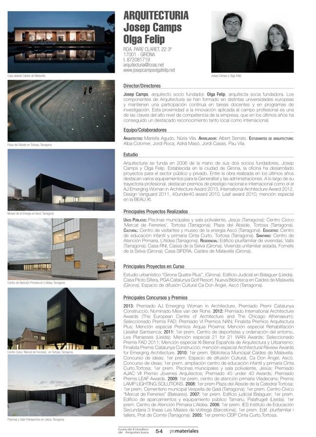 GUIA DE ESTUDIOS DE ARQUITECTURA 2013-2014 - Preview 13