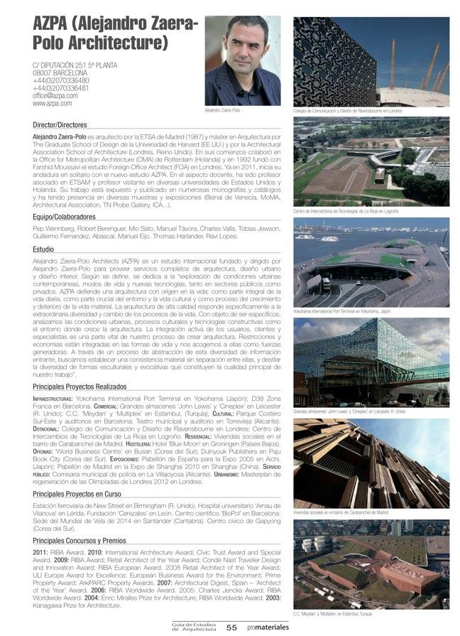 GUIA DE ESTUDIOS DE ARQUITECTURA 2013-2014 - Preview 14
