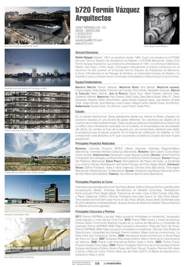 GUIA DE ESTUDIOS DE ARQUITECTURA 2013-2014 - Preview 15