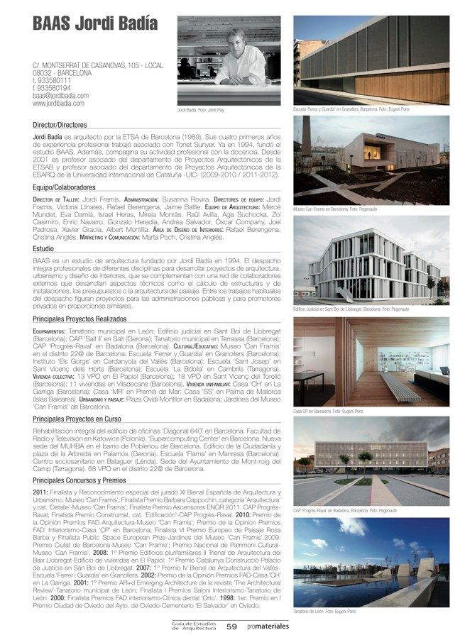 GUIA DE ESTUDIOS DE ARQUITECTURA 2013-2014 - Preview 16