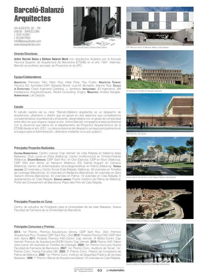 GUIA DE ESTUDIOS DE ARQUITECTURA 2013-2014 - Preview 18