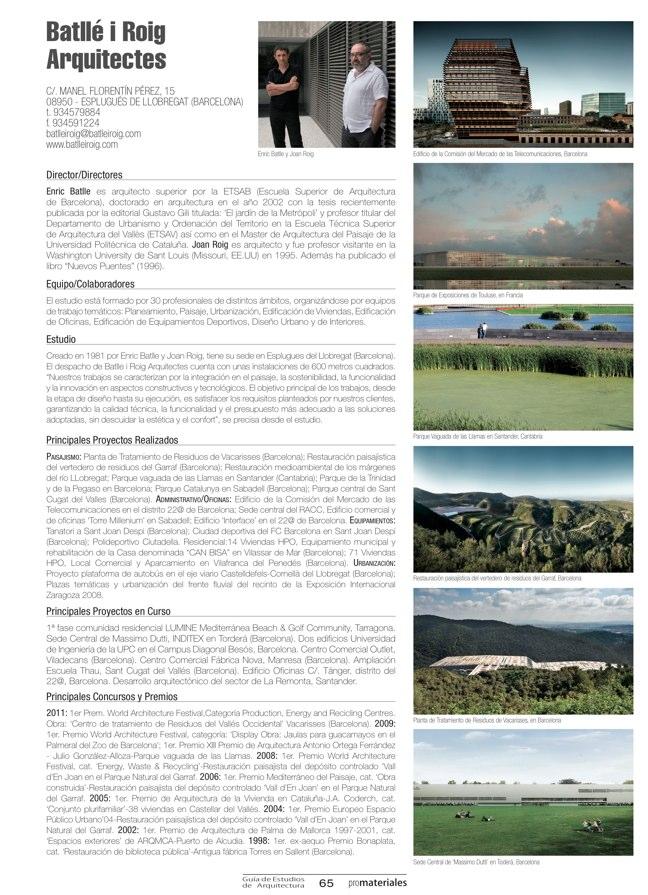 GUIA DE ESTUDIOS DE ARQUITECTURA 2013-2014 - Preview 19