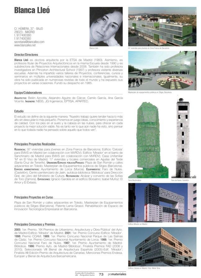 GUIA DE ESTUDIOS DE ARQUITECTURA 2013-2014 - Preview 20