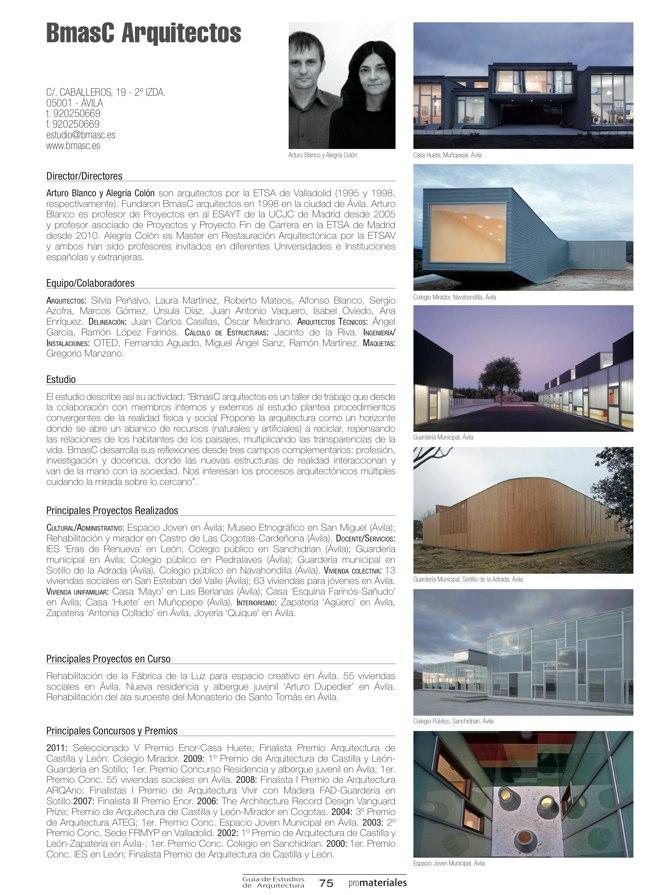 GUIA DE ESTUDIOS DE ARQUITECTURA 2013-2014 - Preview 21