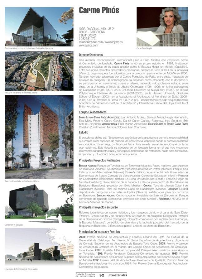 GUIA DE ESTUDIOS DE ARQUITECTURA 2013-2014 - Preview 22