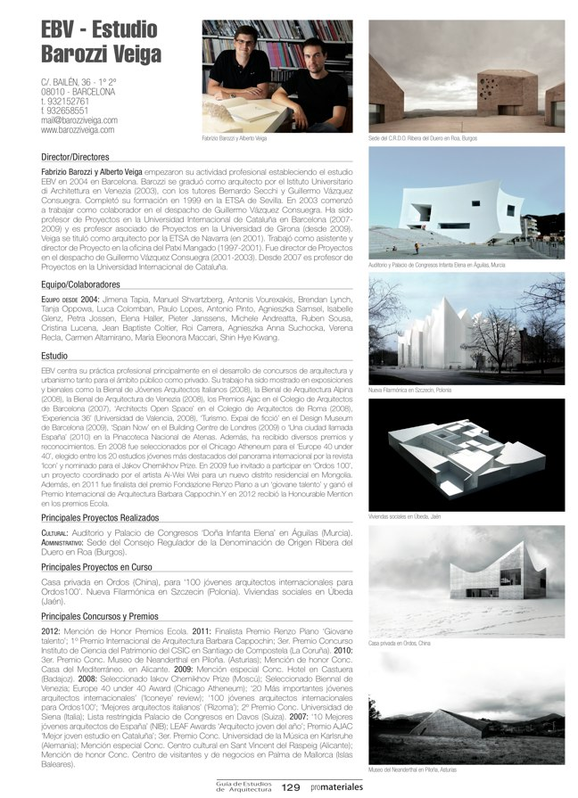 GUIA DE ESTUDIOS DE ARQUITECTURA 2013-2014 - Preview 26