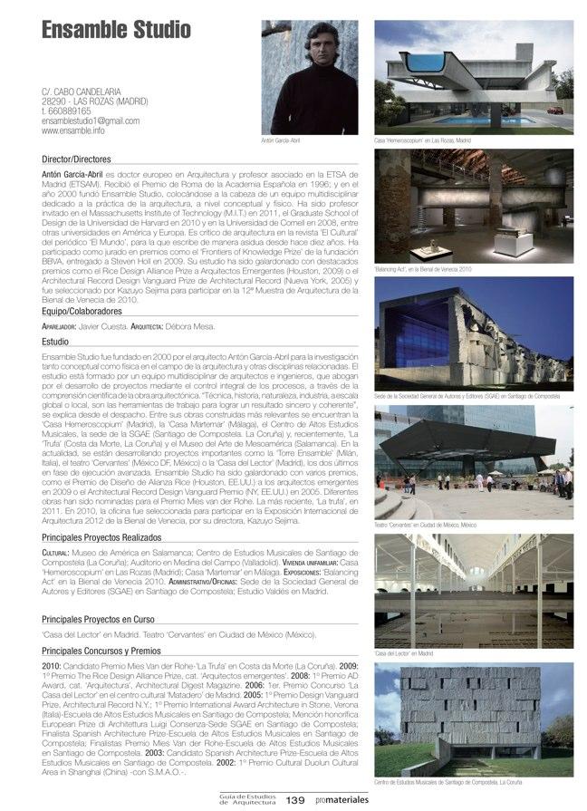 GUIA DE ESTUDIOS DE ARQUITECTURA 2013-2014 - Preview 27