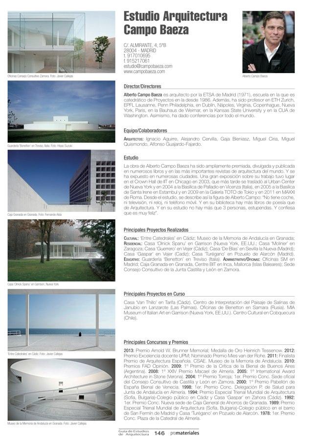 GUIA DE ESTUDIOS DE ARQUITECTURA 2013-2014 - Preview 29