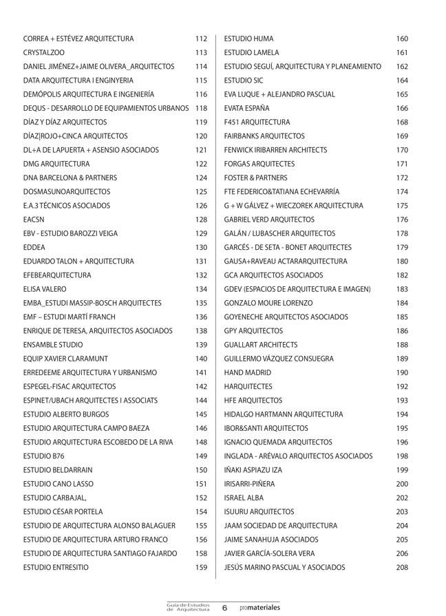 GUIA DE ESTUDIOS DE ARQUITECTURA 2013-2014 - Preview 2