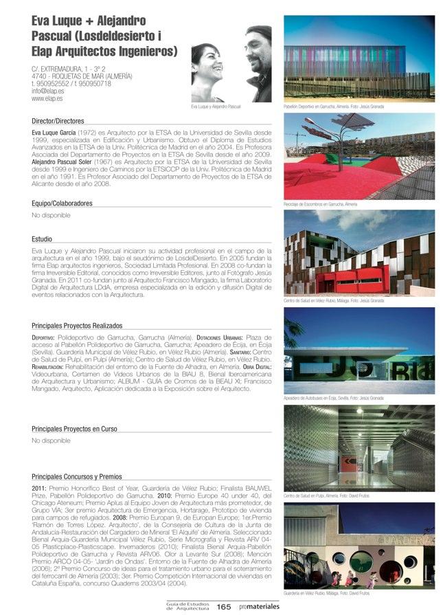 GUIA DE ESTUDIOS DE ARQUITECTURA 2013-2014 - Preview 33