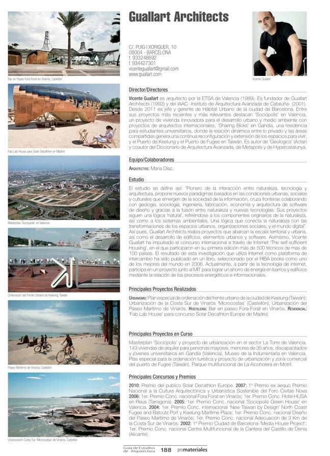GUIA DE ESTUDIOS DE ARQUITECTURA 2013-2014 - Preview 36