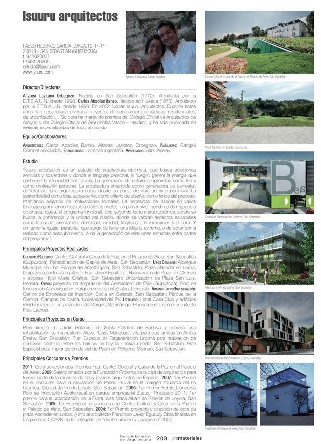 GUIA DE ESTUDIOS DE ARQUITECTURA 2013-2014 - Preview 39