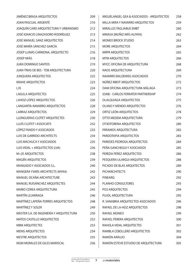 GUIA DE ESTUDIOS DE ARQUITECTURA 2013-2014 - Preview 3
