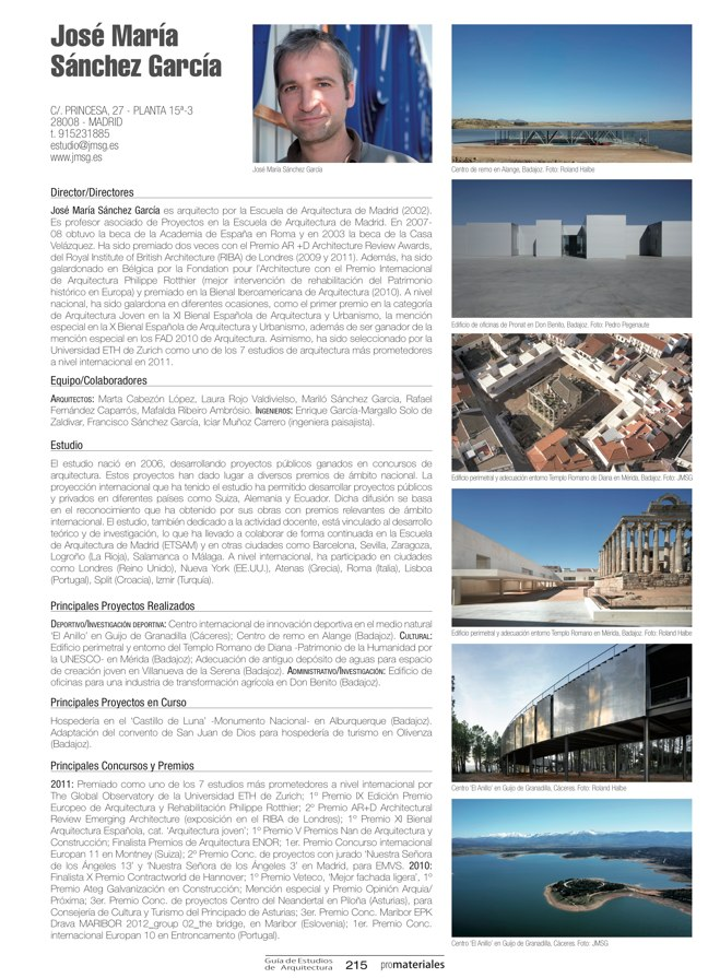 GUIA DE ESTUDIOS DE ARQUITECTURA 2013-2014 - Preview 41