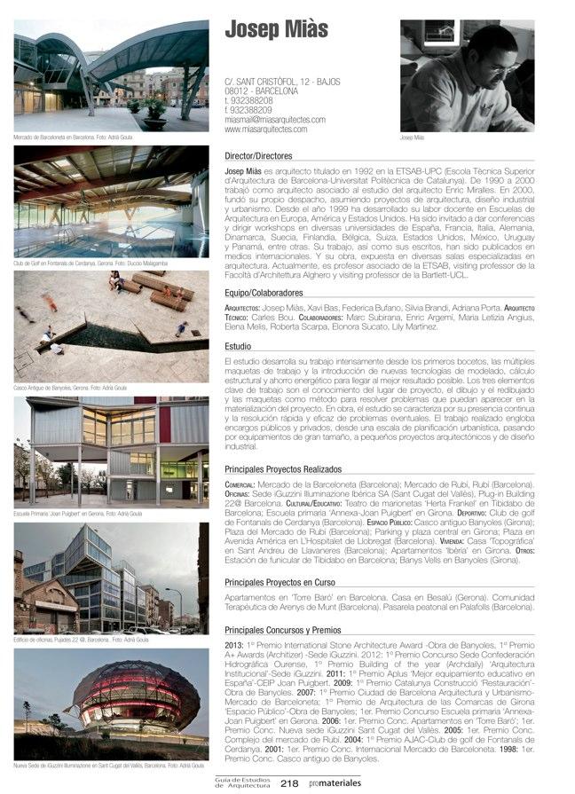 GUIA DE ESTUDIOS DE ARQUITECTURA 2013-2014 - Preview 43