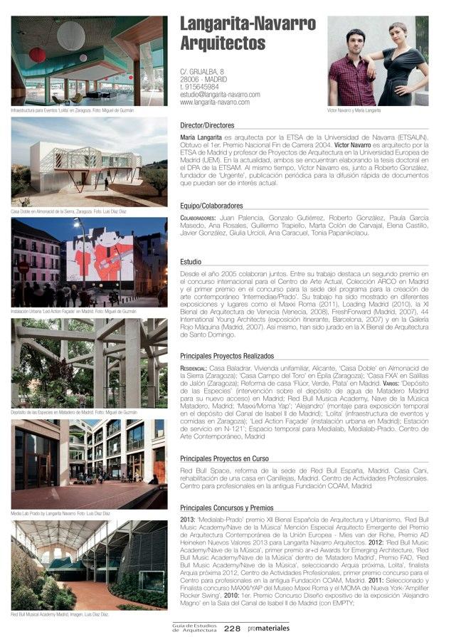 GUIA DE ESTUDIOS DE ARQUITECTURA 2013-2014 - Preview 46