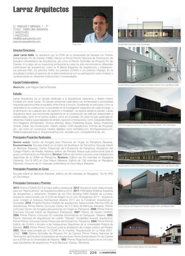 GUIA DE ESTUDIOS DE ARQUITECTURA 2013-2014 - Preview 47