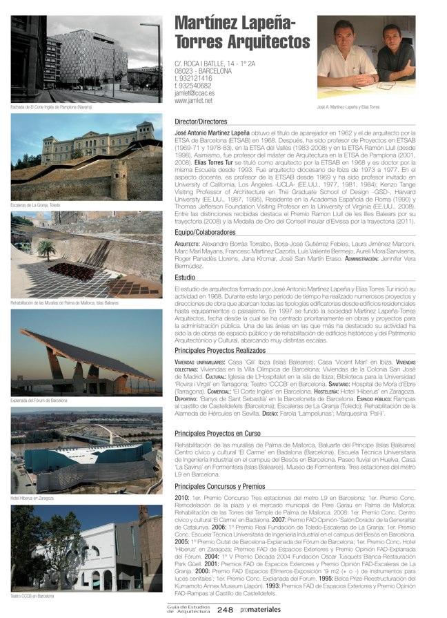 GUIA DE ESTUDIOS DE ARQUITECTURA 2013-2014 - Preview 52