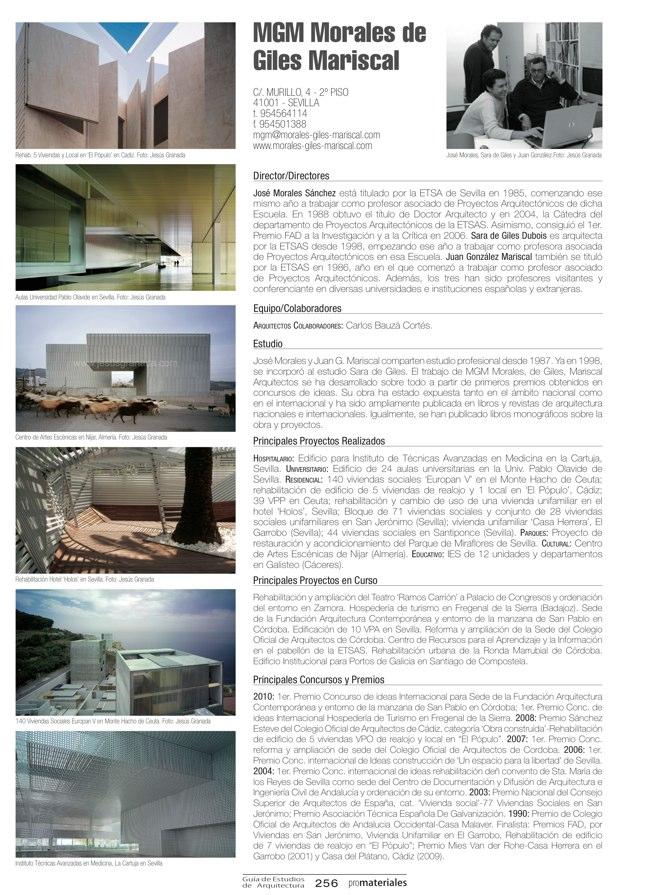 GUIA DE ESTUDIOS DE ARQUITECTURA 2013-2014 - Preview 55