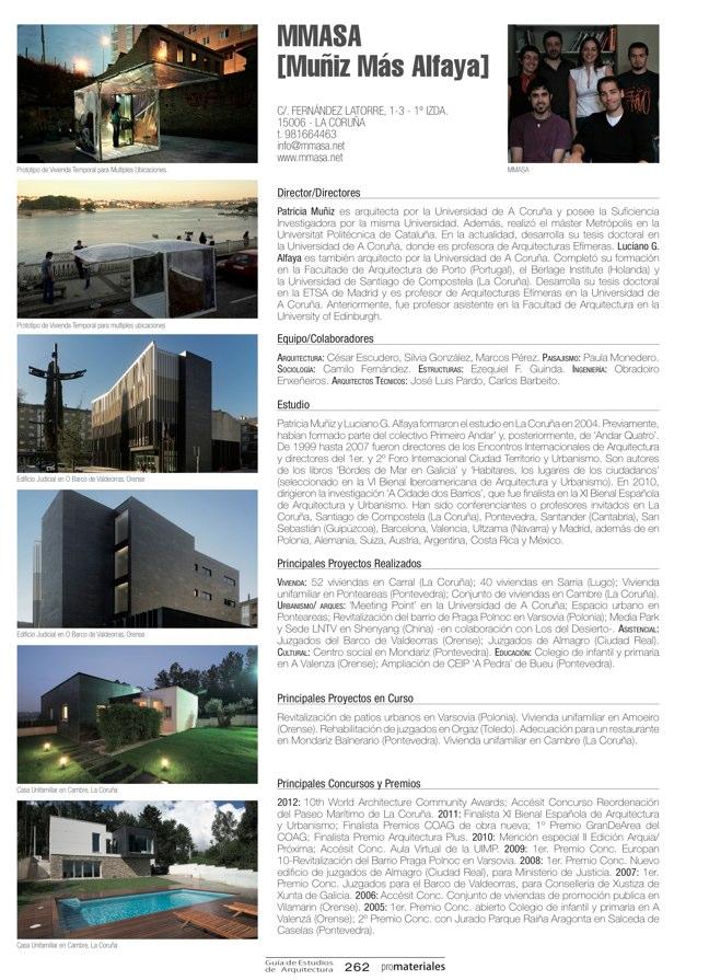 GUIA DE ESTUDIOS DE ARQUITECTURA 2013-2014 - Preview 57