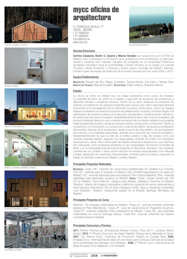 GUIA DE ESTUDIOS DE ARQUITECTURA 2013-2014 - Preview 58
