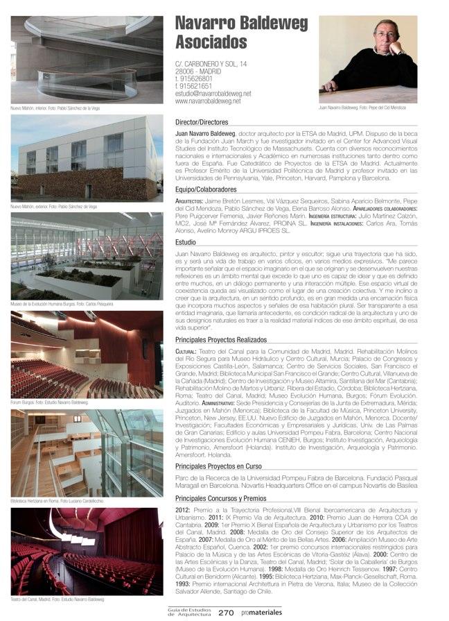 GUIA DE ESTUDIOS DE ARQUITECTURA 2013-2014 - Preview 59