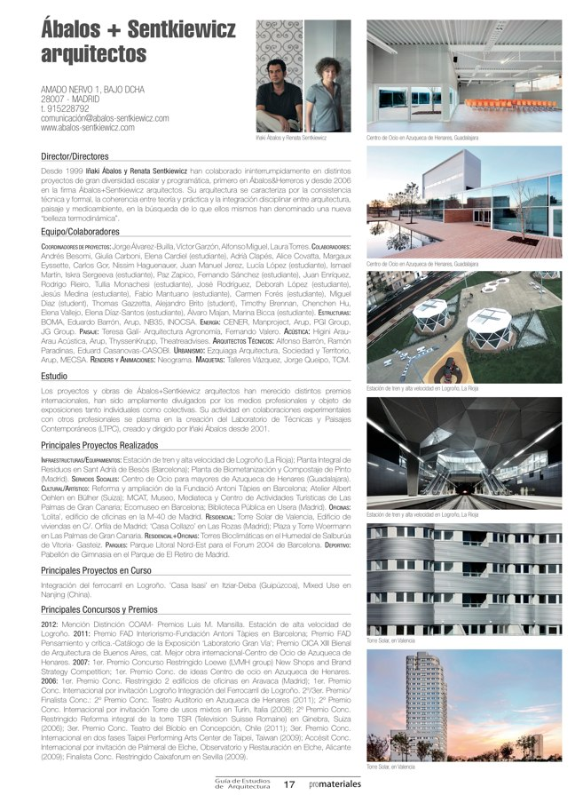 GUIA DE ESTUDIOS DE ARQUITECTURA 2013-2014 - Preview 5