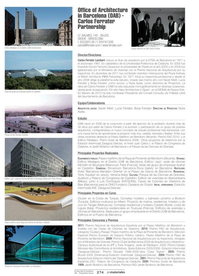 GUIA DE ESTUDIOS DE ARQUITECTURA 2013-2014 - Preview 60