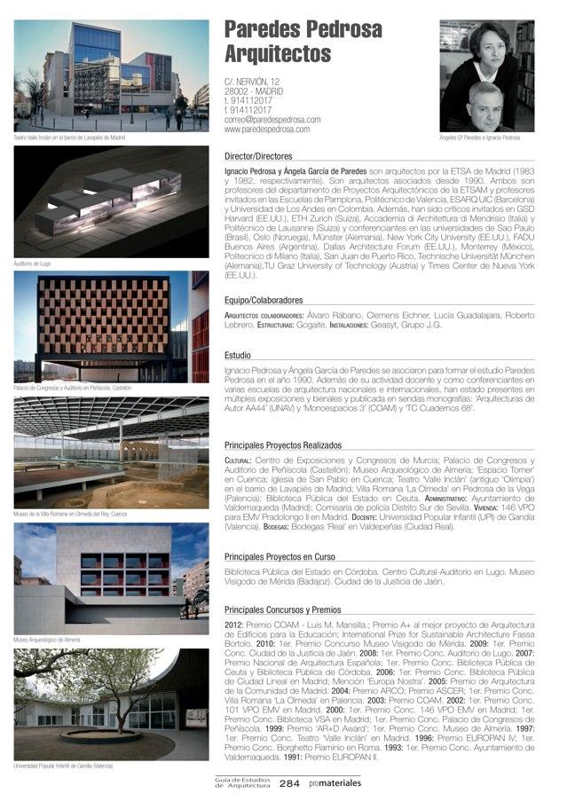 GUIA DE ESTUDIOS DE ARQUITECTURA 2013-2014 - Preview 61