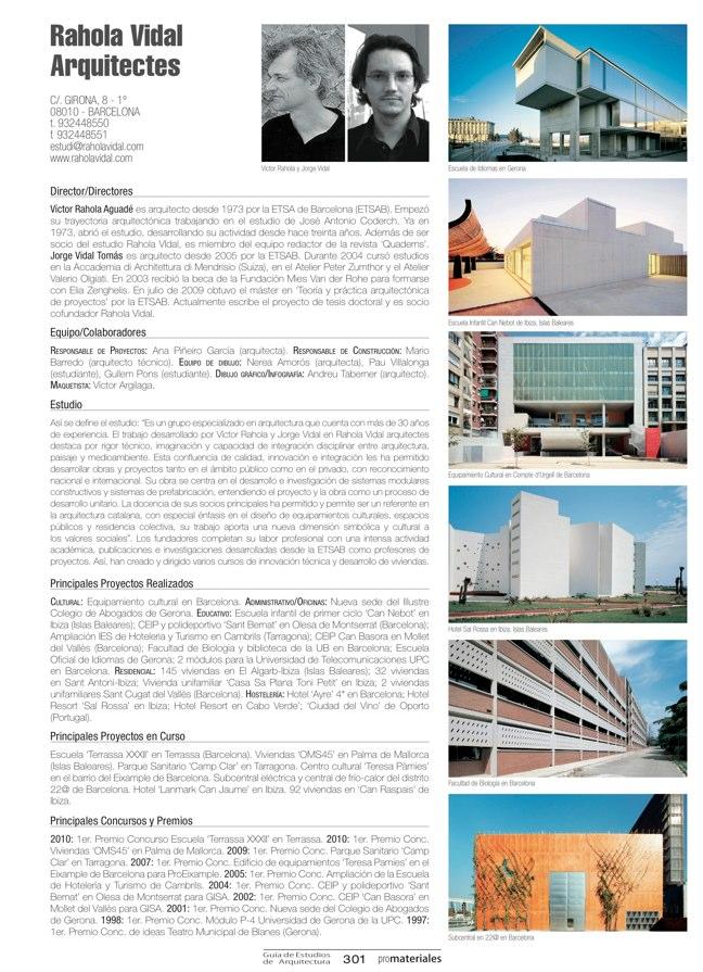 GUIA DE ESTUDIOS DE ARQUITECTURA 2013-2014 - Preview 65