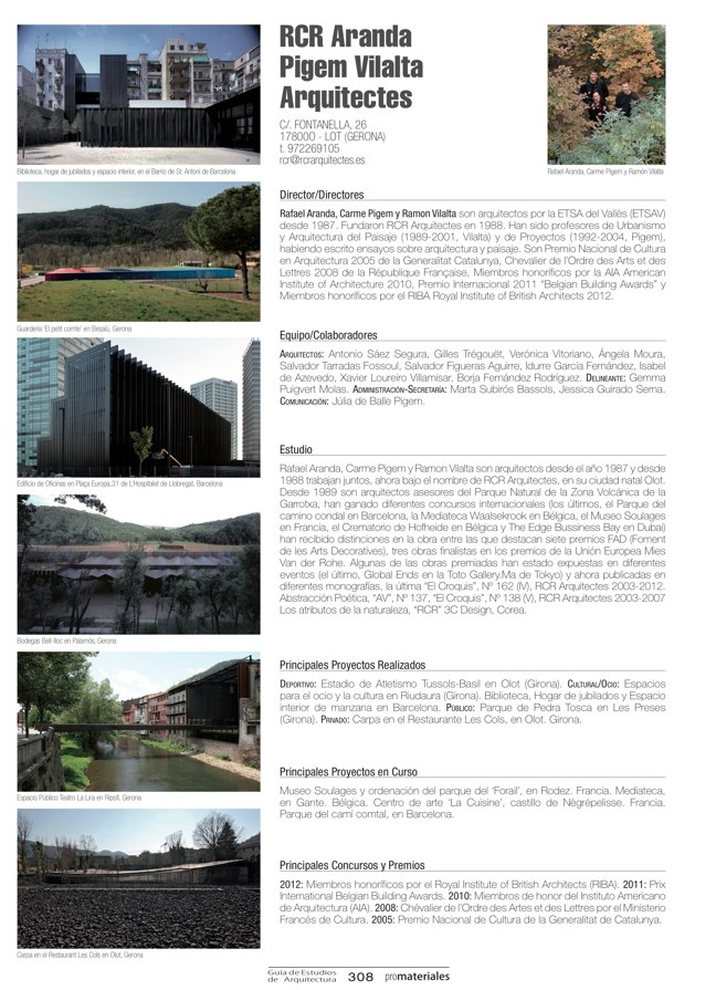 GUIA DE ESTUDIOS DE ARQUITECTURA 2013-2014 - Preview 66